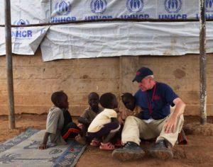 Bernd Ruf in Kenia